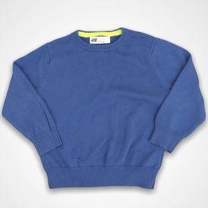 H&M Long Sleeve Blue Sweater